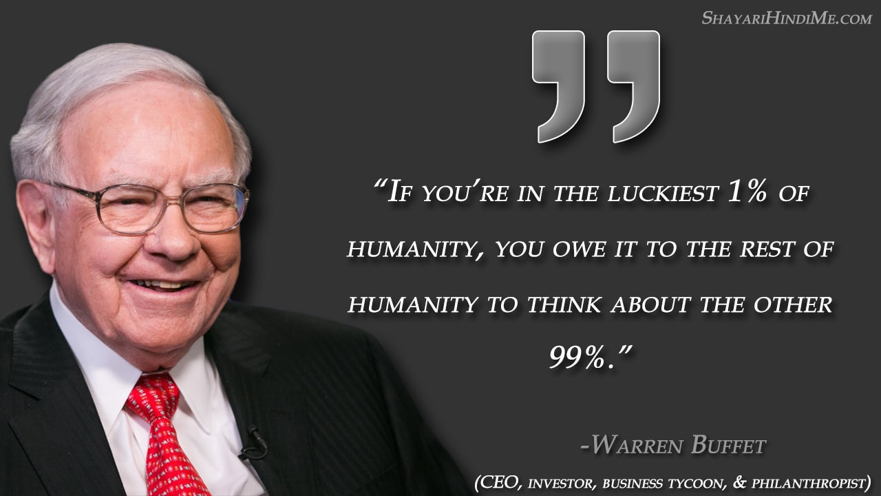 All time Best Warren Buffet Quotes