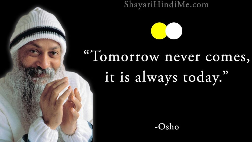 20 Best Osho Quotes on life and love/Osho Status